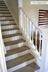 escalier pinteres With superb peindre des marches d escalier en bois 1 deco escalier ancien