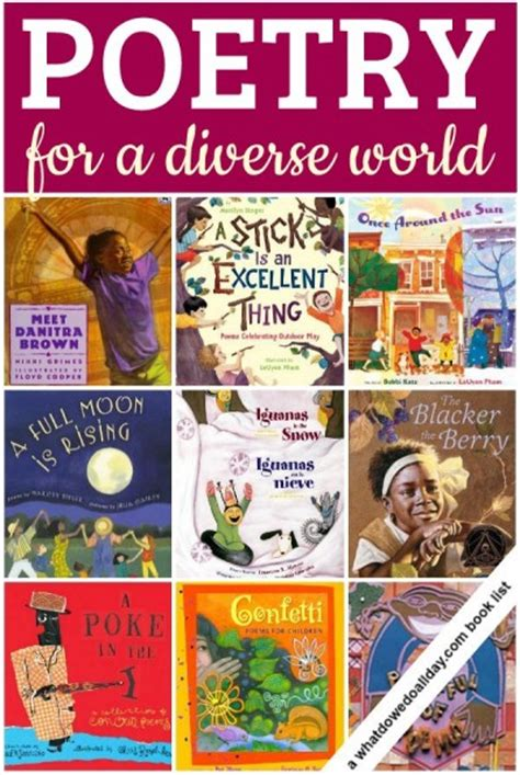 weekend roundup of great multicultural posts amp books 959 | diverse poetry 1 400x597