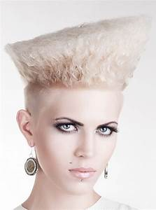 Punk Curly Hair Style With Undercut Major Guile Inspired ...
