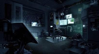 Hacker Cyberpunk Artstation Hacking Cyber Punk Computer
