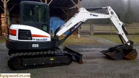 bobcat  excavator  sale classifieds equipment list
