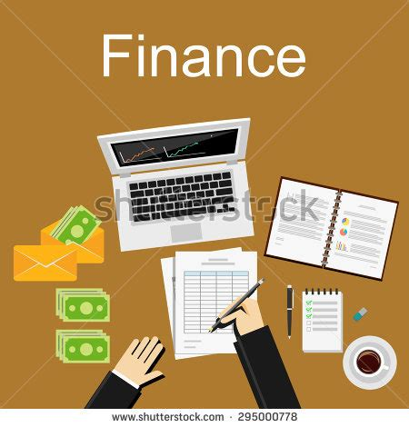 bureau of finance accounting department stock vectors vector clip