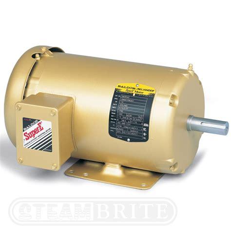 Baldor Electric Motors by Baldor Motor Em3616t 7 5hp Phase 3450 Rpm