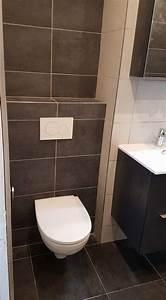 Installer Un Wc : cr ation d 39 une douche l 39 italienne et d 39 un wc suspendu ~ Melissatoandfro.com Idées de Décoration