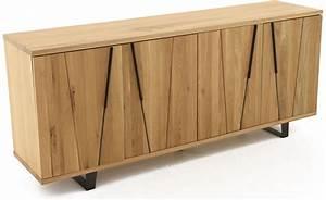 Meuble Bas Chambre : meuble bas 4 portes eclypse ~ Teatrodelosmanantiales.com Idées de Décoration