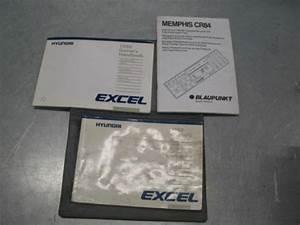 Owner U0026 39 S Owners Manual Hyundai Excel 1988 Handbook   88