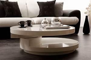 Table Ronde De Salon : comment choisir une table basse pour son salon ideeco ~ Teatrodelosmanantiales.com Idées de Décoration