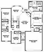 One Story 4 Bedroom 2 Bath Traditional Style House Plan House Plans Story Apartment Building Plans House Floor Plans 3 Bedroom 2 Bath Plans 3 Bedroom 2 Bath 3 Story Tiny House Plans 3 Story House Plans Two Story 4 Bedroom 3 Bath French Style House Plan House Plans