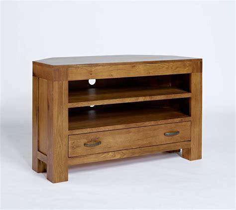 Rustic Oak Corner Tv Cabinet Quercus Living 15 Best Rustic Corner Tv Cabinets
