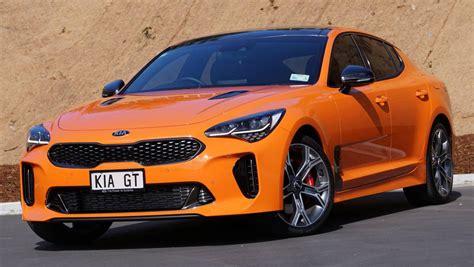 review kia stinger gt sport neon orange edition stuff