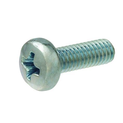 Kitchen Pan Storage Ideas - crown bolt 6 32 x 5 16 in phillips pan head machine screws 3 pack 68618 the home depot