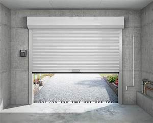 porte de garage enroulable sarl michel beze et fils With porte de garage enroulable et porte interieur simple