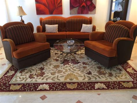 modern art deco sofa couch  chairs set living room
