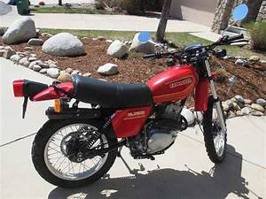 Honda 1980 Xl250s Exhaust