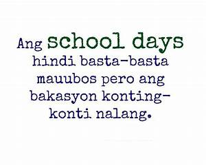 Quotes About School Life Memories Tagalog | www.pixshark ...