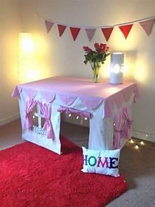 Zelt Kinderzimmer Nähen : spielidee f r kinder aus einem tisch und einem zelt passend zum tisch buden bauen kinder ~ Markanthonyermac.com Haus und Dekorationen