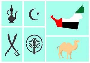 Vector Set Of Uae Symbols