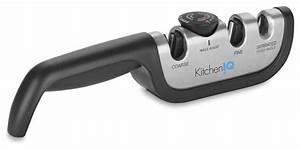 Kitcheniq Manual Adjustable Sharpener - Contemporary