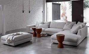 50 idees fantastiques de canape d39angle pour salon moderne With nice meubles de salon roche bobois 13 canape dangle tissus roche bobois