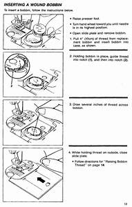 Singer 7033 7035 9410 Sewing Machine Threading Diagram