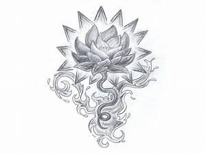 73 Lotus Flower Tattoos Designs - Mens Craze