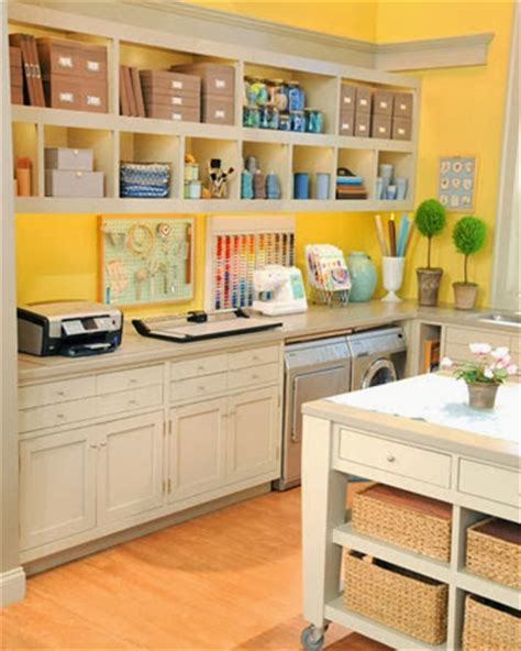 The Classy Woman ® Design Inspiration Craft Rooms