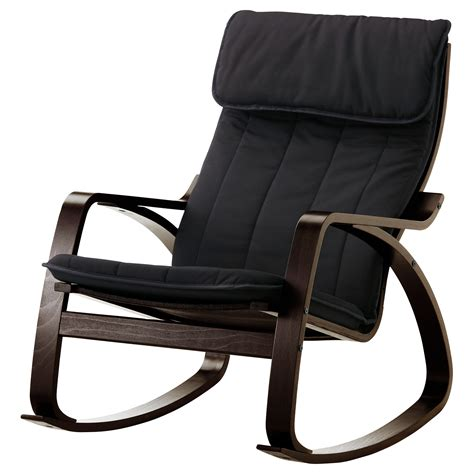 rocking chair ikea usa po 196 ng rocking chair black brown ransta black ikea