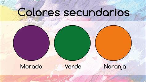 colores secundarios 191 c 243 mo se hacen los colores secundarios