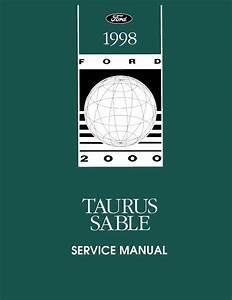 Oem Repair Maintenance Shop Manual Bound For Ford Taurus