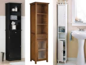 Tall Skinny Cabinet With Doors by Bathroom 10 Tall Bathroom Storage Cabinets Small