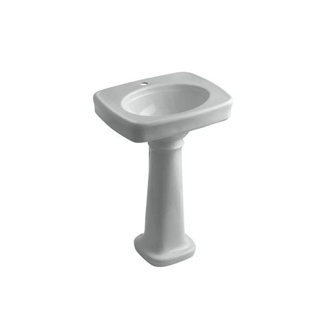 Home Depot Kohler Bancroft Pedestal Sink by Kohler Bancroft Pedestal Combo Bathroom Sink In Grey K
