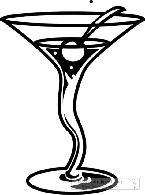 mixed drink clipart black and cocktail drinks clip art 68
