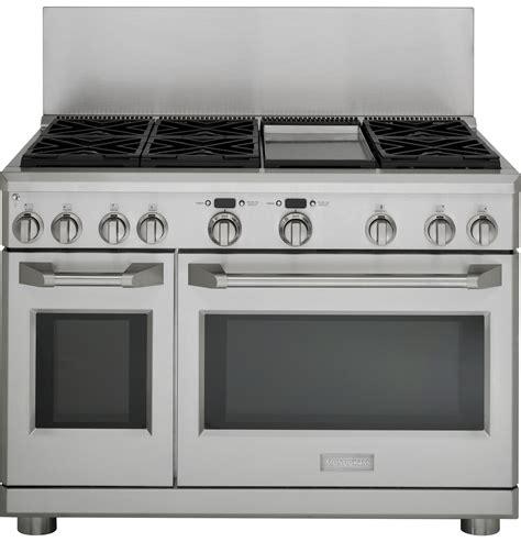 zdplgpss ge monogram  dual fuel professional range   burners grill  griddle