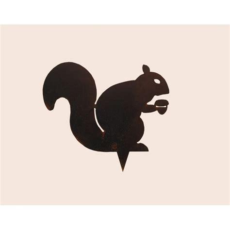 cuisine au gaz ou induction silhouette forme métal ecureuil la cabane du chasseur