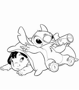 Lilo and Stitch Disney Coloring Pages Ideas