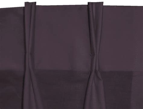 Solid Eggplant Pinch Pleat Kitchen/cafe Tier Curtains Car Curtain Sunshade Overstock Thermal Curtains Warm For Winter Bella Notte Kirsh Rods Traditional Style Wal Mart Shower Buy Air