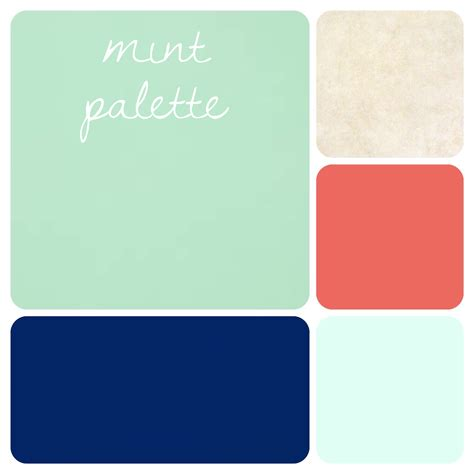 what colors go with mint green mint green color palette beautiful navy coral sea