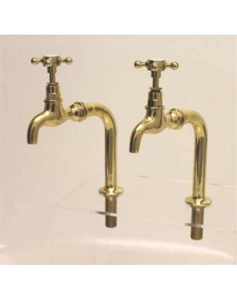 Brass Sink Taps Bathroom by Brass Kitchen Bib Taps On Standpipes Griferia Antigua
