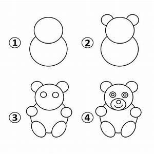 Draw a Teddy Bear for Kids - Kids