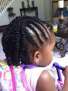 Creative Natural Hairstyles for Kids | Two strand twists ...