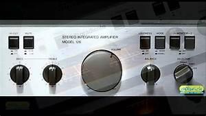 Lindo Amplificador Gradiente Model 126 -  Xiv