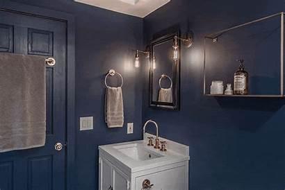 Bathroom Dark Walls Bathrooms Renovations Moody Shower