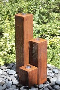 Pumpe Für Springbrunnen : wasserspiel set cortenstahl 3er s ulen 20 40 60 inkl pumpe becken springbrunnen 100400011 ~ Eleganceandgraceweddings.com Haus und Dekorationen
