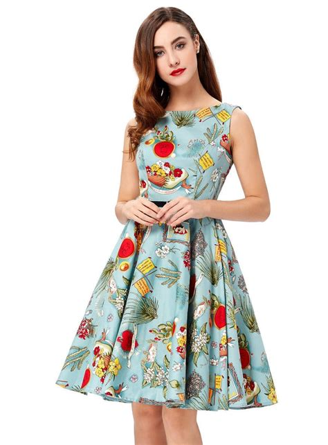 Swing Dresses by Viva Mexico 50s Swing Dress Vintage Clothing