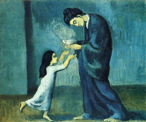Filepablo Picasso 1902 03 La Soupe The Soup Oil On