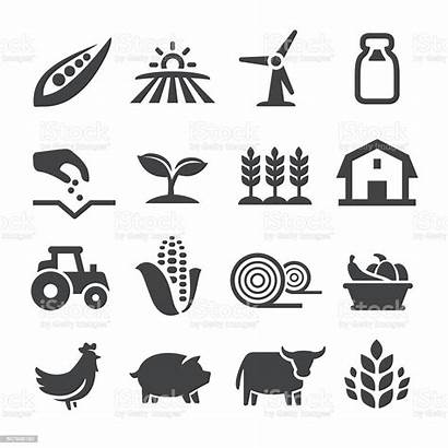 Agriculture Farming Clipart Vector Acme Icons Illustration