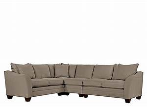 Foresthill 4 pc microfiber sectional sofa mineral for 4 pcs sectional sofa