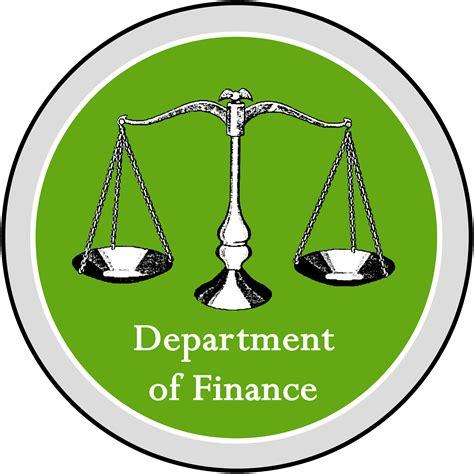 bureau of finance federal department of finance