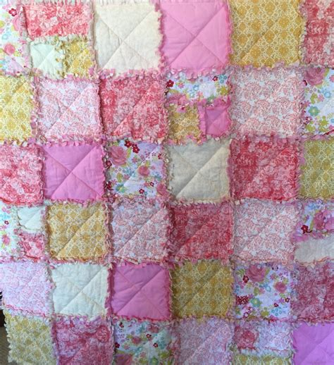 shabby chic quilt pattern shabby chic rag quilt