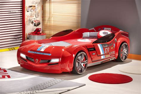 1600x1200 Kids Bedroom Amazing Red Car Bunk Bed With